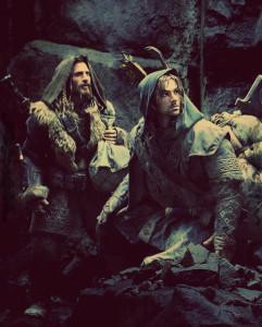 Allora, uno guerriero di Gondor e un elfo... ah, sono due nani?
