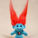 Un brindisi a 1, il troll timido e arrabbiato