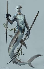 Una rappresentazione dell'Adaro, creatura mitologica malese