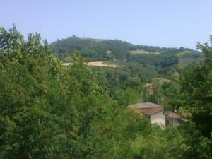 Una veduta di Dozza, borgo scoperto per caso in un week end di fuga a Brisighella