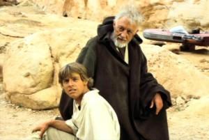 Il Vecchio Mentore e... no, non è L'Eletto!