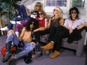 I Guns n' Roses quando erano sconosciuti all'Italia