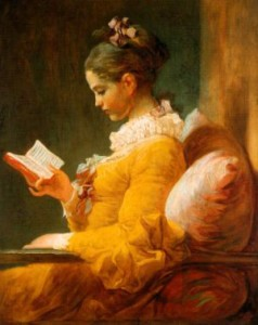Fragonard - La lettrice