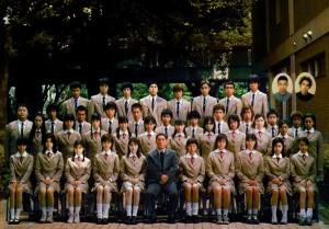 I 40 studenti, i 2 Outsiders e Kitano