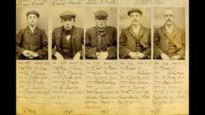 Parte della gang Peaky Blinders originale