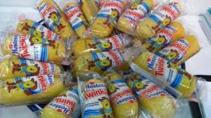 Un tavolo pieno di Twinkies e calorie
