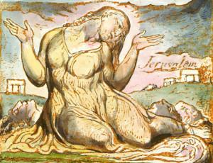 Jerusalem in un'opera di Blake