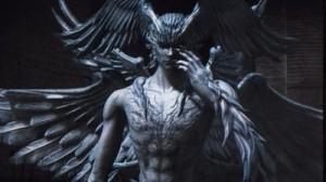 Una rappresentazione di Lucifer, presa dal live action di Devilman
