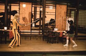 Una scena di combattimento