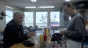 Una scena alla tavola calda in Fargo
