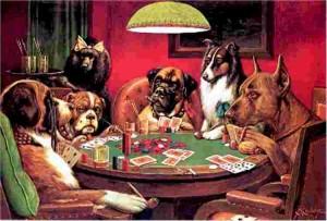 Fumo, gioco, cani...