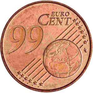 99-cent-euro-cent-muenze-geld